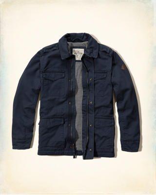 Military Twill Jacket