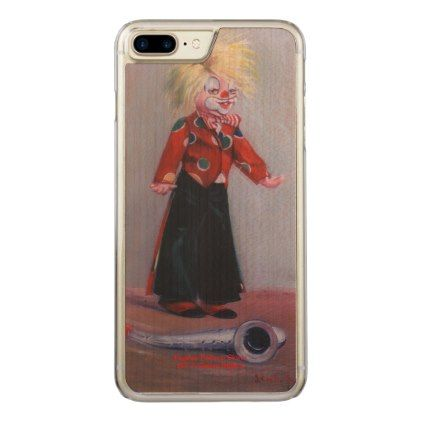 Clown/Pallaso/Clown Carved iPhone 8 Plus/7 Plus Case - diy cyo personalize design idea new special custom