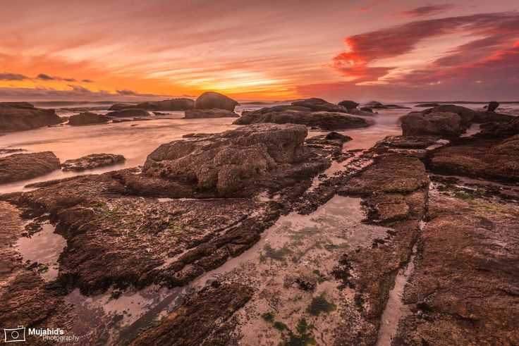 Landscape Photography Tips on Location  - Seascape Photography at Sunset