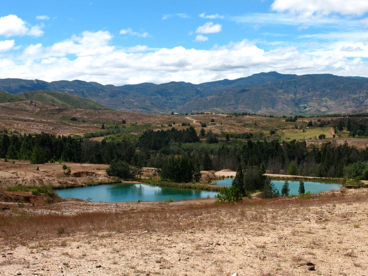 Pozos Azules, Villa de Leyva - Colombia.