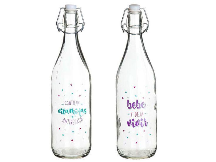 #botellas #botellasdeagua #botellasdecoradas https://www.catayhome.es/categoria/botes-y-recipientes/