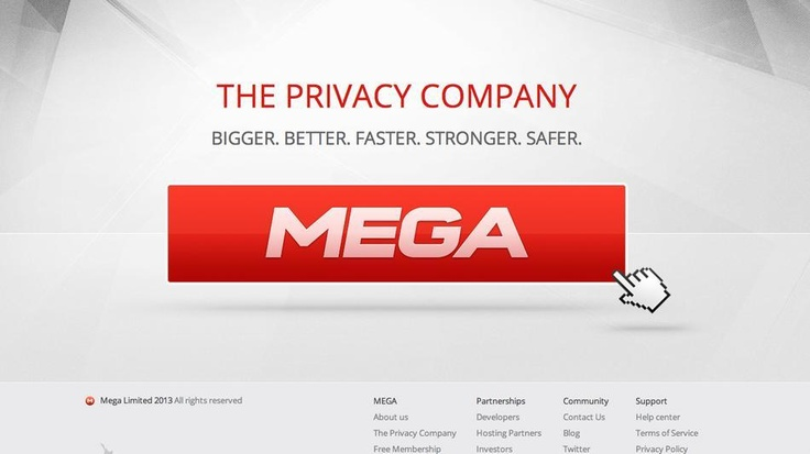 Kim Dotcom's long-anticpated 'Mega' file-sharing site is now open to the public.
