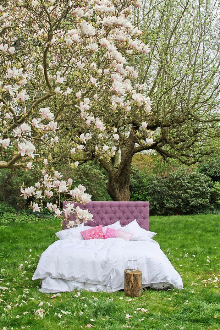 Heather linen upholsteret headboard - Add a little luxury from MOLLYSHOME.COM