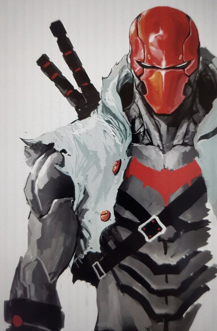 Dexter Soy just released this epic pic of Red Hood on his Twitter!