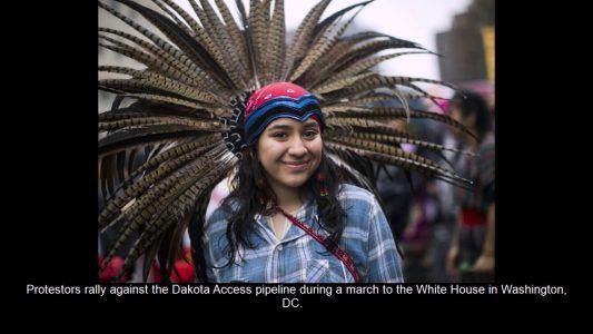 Native Americans protest Dakota Access Pipeline #news #alternativenews