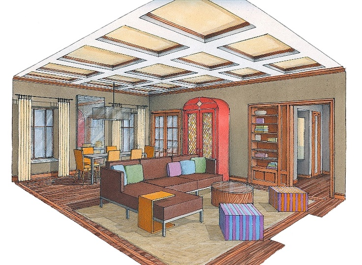 one of the best teachers ever keith geldof taught perspective drawing for interiors at