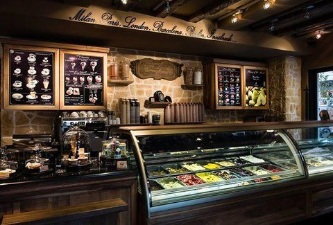 Paris-based gelato shop Amorino opened in Chicago in a sleek 22-seat storefront on State St, complete with exposed brick, crystal-encrusted light fixtures, and a vibrant gelato selection spanning...
