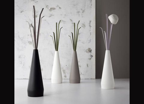 The Bonaldo Kadou coat stand - inspired by the shape of traditional Japanese flower vases (Kadou in Japanese means 'the art of flowers') - a striking new addition to the Go Modern collection for 2013, designed by Ryosuke Fukusada.  £295