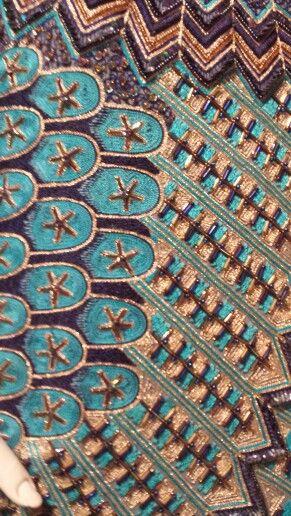ZANDRA Rhodes sequin detail