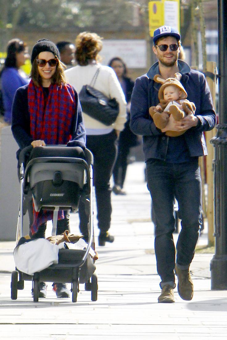 EXCLUSIVE* Jamie Dornan and Amelia Warner enjoy a walk with ...
