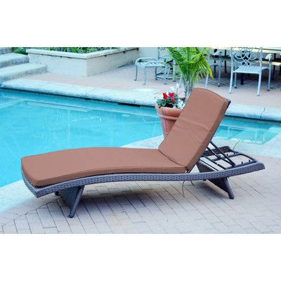 Found it at Wayfair - Friendship Harbor Chaise Lounge with Cushion