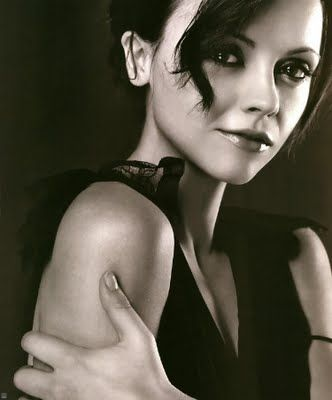 Christina Ricci -- love this photo of her...