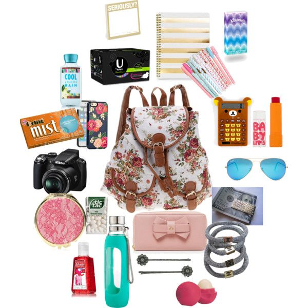 What to put in your Purse when you travel by jmail1915 on Polyvore featuring Chanel, Vivienne Westwood, Tiffany & Co., Ray-Ban, Sonix, 1928, Eos, Maybelline, Forever 21 and Nikon