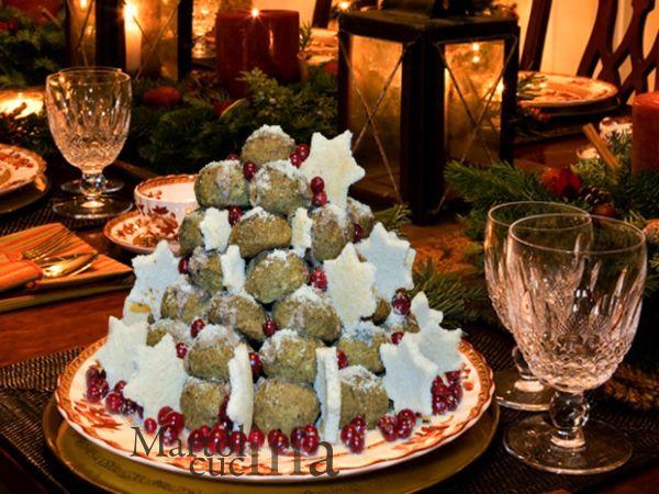 Albero di Natale di broccoli
