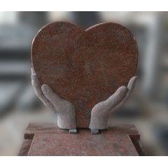 heart shaped headstones for graves