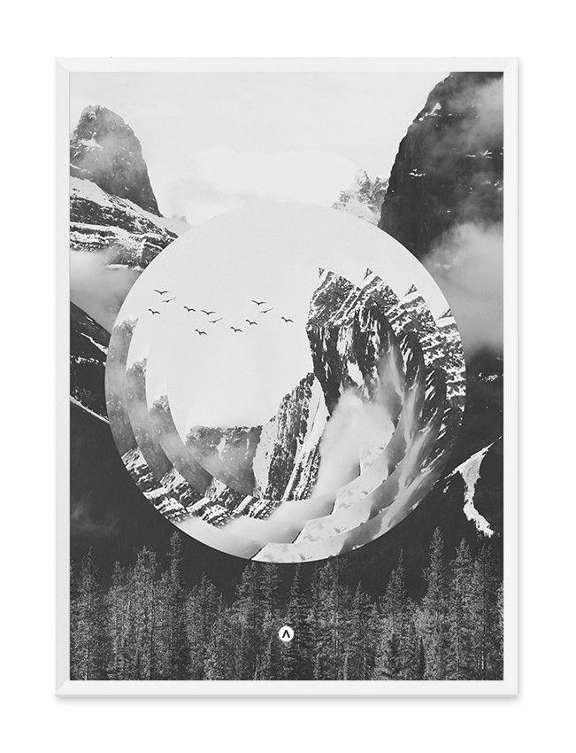 The Mountain Print - Wall Art