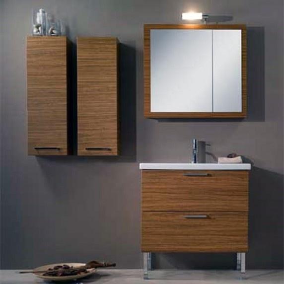 The Awesome Web Modern Space Saving Bathroom Vanity Luna