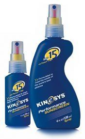 KINeSYS 01101-3 Kinesys Sunscreen Spf 15 1 Oz Spray by KINeSYS. $7.70. Sunscreen. KINeSYS. 01101-3. KINeSYS 01101-3 Kinesys Sunscreen Spf 15 1 Oz SprayKINeSYS 01101-3 Kinesys Sunscreen Spf 15 1 Oz Spray Features:; The perfect sunscreen for sports ; Sprays on wet and dries in two to three minutes ; PABA and alcohol-free ; Water and sweat-resistant formula lasts for two hours ; SPF 15 1 oz. spray (28 g)