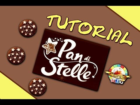 TUTORIAL FIMO --PAN DI STELLE-- DIY POLYMER CLAY TUTORIAL PAN DI STELLE COOKIE - YouTube