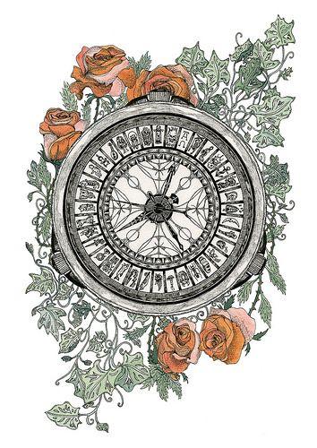 Golden Compass Tattoo Commission | por Annarack