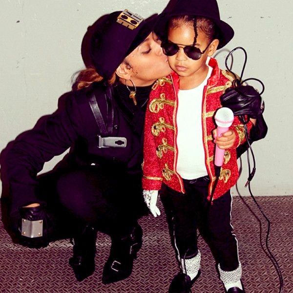 Blue Ivy Dresses as Michael Jackson, Beyoncé Nails It With a Janet Jackson Halloween Costume | E! Online Mobile