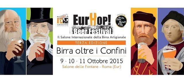 #EurHop 2015 #Roma 9/11 ottobre 70 Birrifici più di 300 Birre http://www.facciadamalto.it/evento/eurhop-2015-roma/ #Birra #Birraartigianale