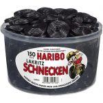 Haribo Lakritz Schnecken 150er Dose