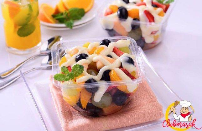 Salad Buah Club Masak Salad Buah Resep Salad Masakan Indonesia