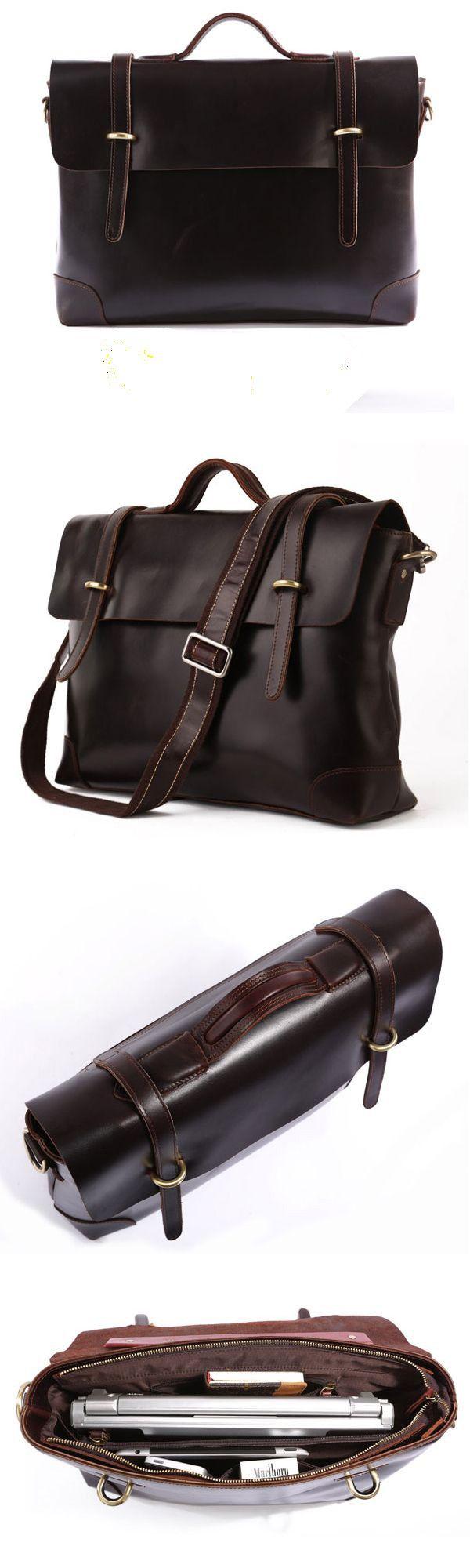 Selvaggio #Leather #Messenger Bag #Briefcase