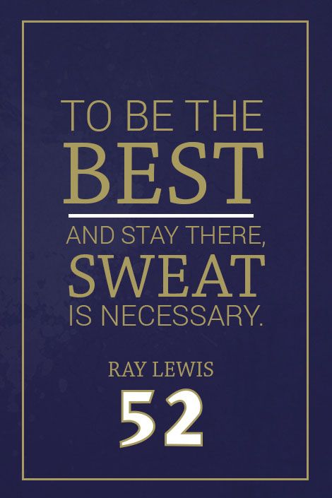 ''Ray Lewis Quote on Print. See more at www.finesportsprints.com #lewis #sportsquote #ravens''