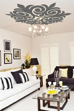 Best 25 ceiling art ideas on pinterest cloud ceiling for Ceiling mural decal