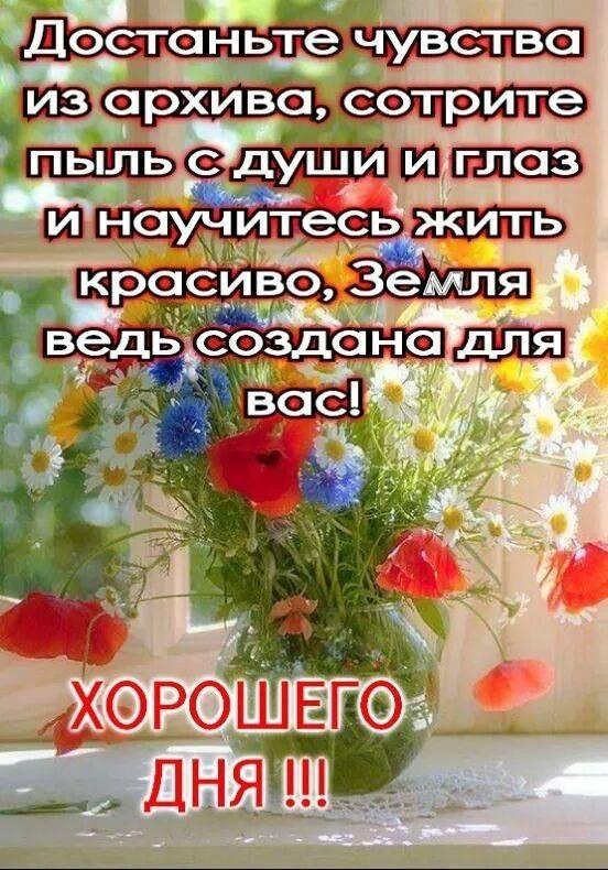 Пожелания хорошего и удачного дня в фразах