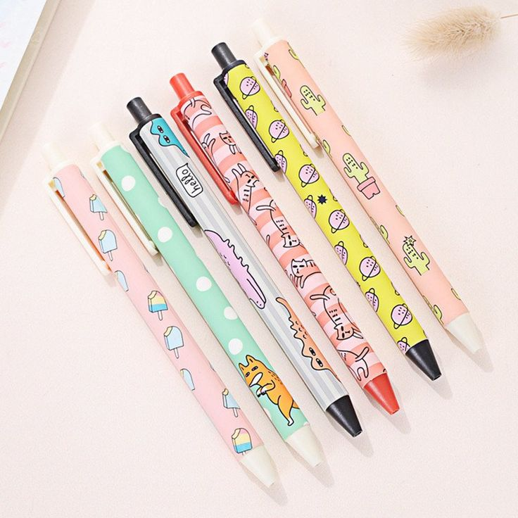 Kawaii Pen Shop - Pop Funk Gel Ink Pen Set. Free worldwide shipping!