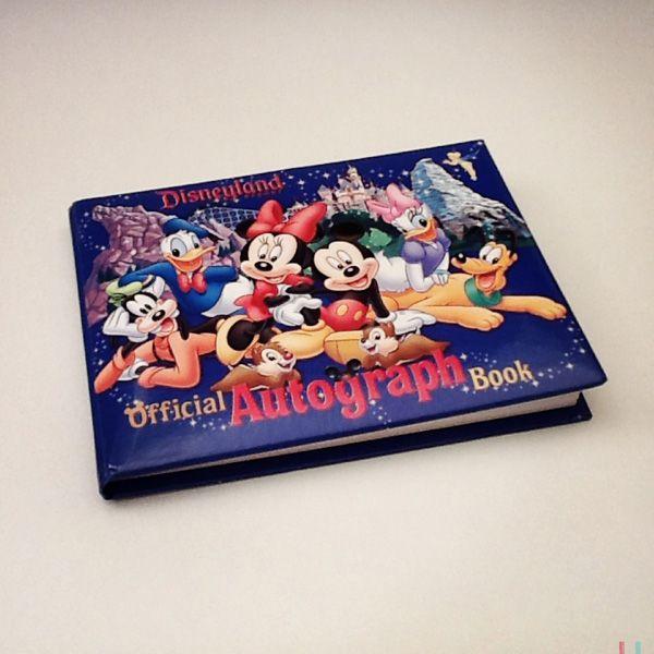 Livro Autógrafos Disney