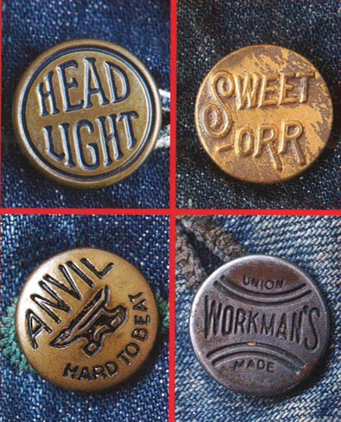 Workwear Button Details