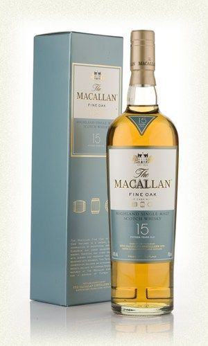 The Macallan 15 Year Old Fine Oak. Bought one as an investment after reading that it will no longer be on shelves. 1/29/16.