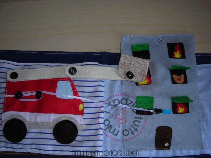 pompieri - quietbook page