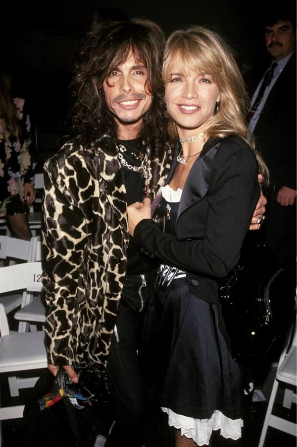 The husband and wife couple Teresa Barrick and Steven Tyler