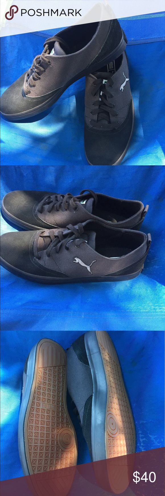 Puma men's casual sneakers size 9.5 new no box This men's shoes are brand new no box size 9.5 no stains no rips in excellent condition Puma Shoes Sneakers