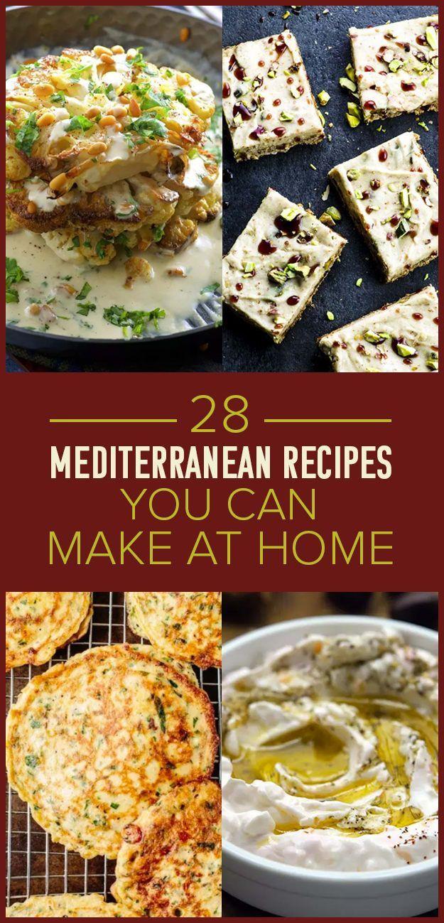 28 Mediterranean Recipes You Should Make ASAP