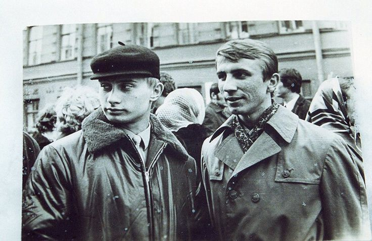 Another yet old photo of Mr. Putin