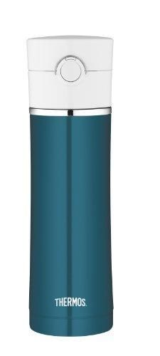 Thermos Sipp Stainless Steel Insulated 16-Ounce Drink Bottle Teal