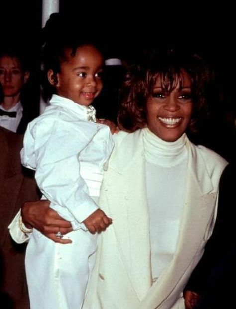 Following in her mother's footsteps, but gorgeously taking after her father, Bobbi Kristina and Whitney Houston were inseparable.