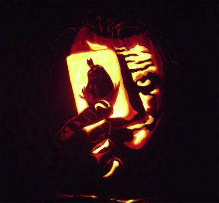 Amazing joker pumpkin
