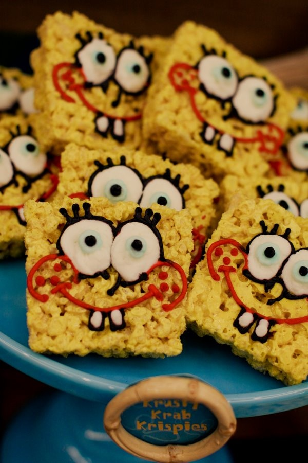 sponge bob... Looks like something for josh and Zechariah's birthdays!!! @Lauren Davison Davison O'Hora