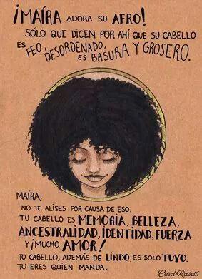 Artista brasileña que pulveriza los estereotipos femeninos con sus ilustraciones.