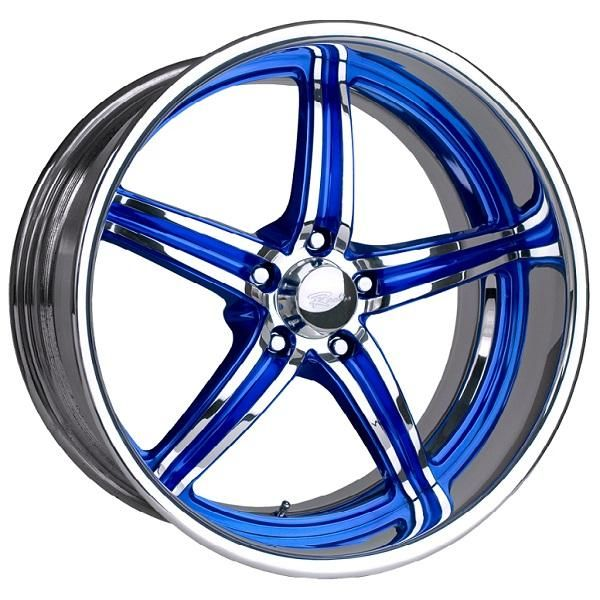 SNIPER 5 BLUE RIM with POLISHED FINISH by RACELINE WHEELS - Wheels/Rims for Sale from Performance Plus Tire. PerformancePlusTire.com is one of the leading wheels and rims sites around. Unlike other sites offering cheap wheels and rims, we offer brand name wheels and rims at discount prices. We have a retail facility in Long Beach, California and are family owned and operated for over 45 years.
