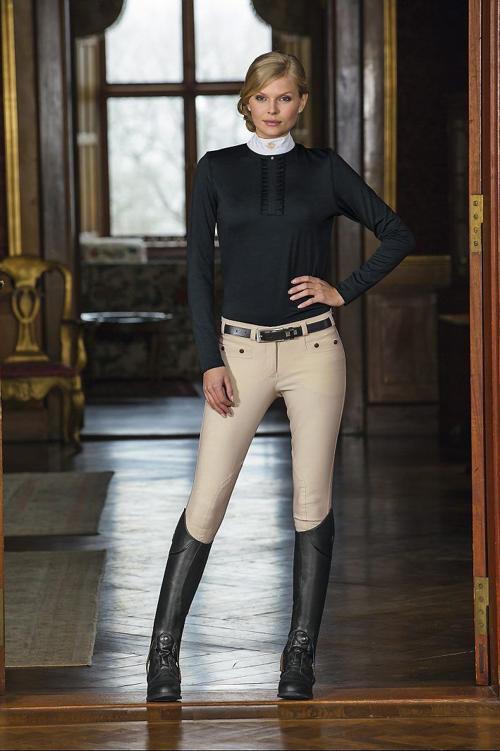 MOUNTAIN HORSE Noble top , breeches Mod lauren Botas Supreme