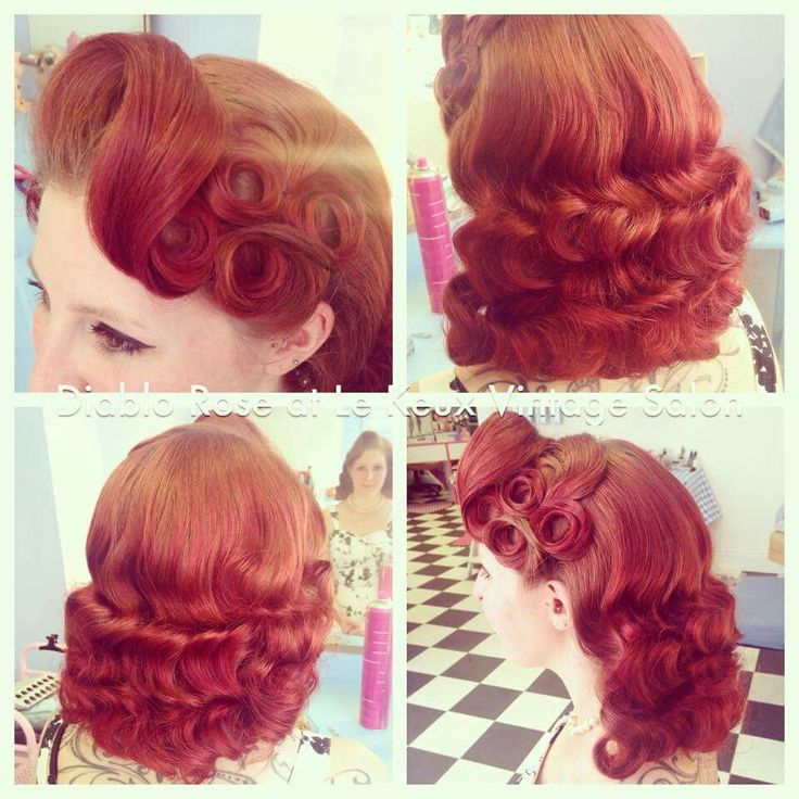 Diablo Rose Retro Hairstyle