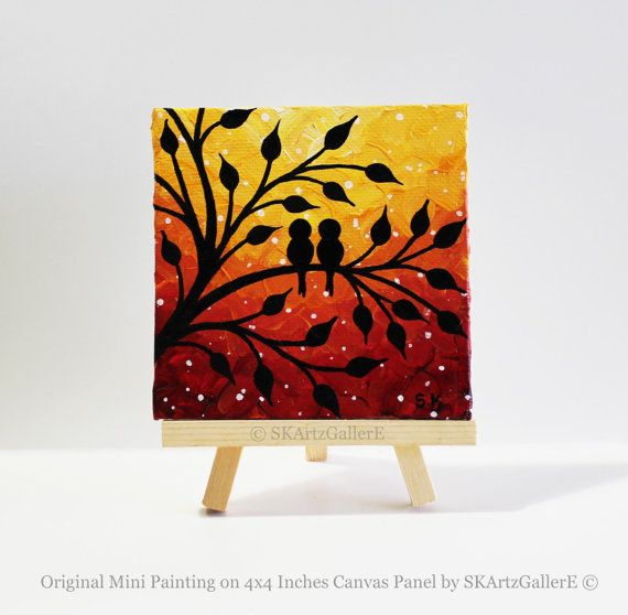 25 best ideas about mini canvas art on pinterest mini canvas small canvas art and mini paintings. Black Bedroom Furniture Sets. Home Design Ideas